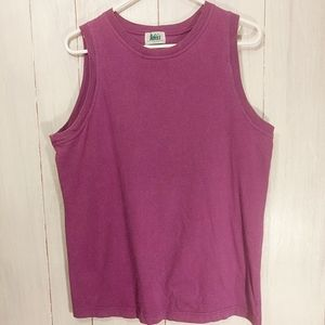 Vintage REI Retro Chic Workout Tank in Plum Size M